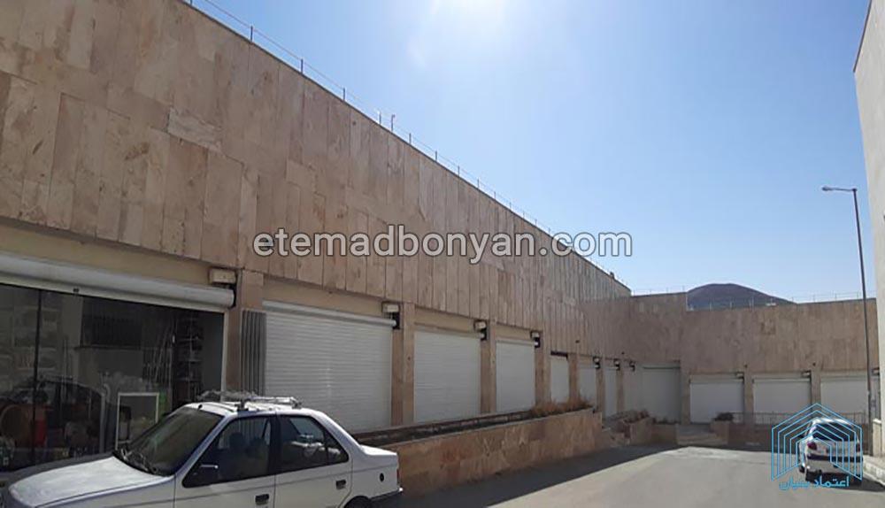 مجتمع تجاری در پروژه سنگ بنای کسرا